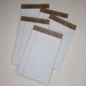 Tops Jr Legal Pad Paper Notebook School Teach L